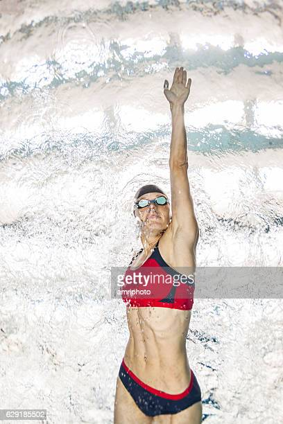 powerful swimmer