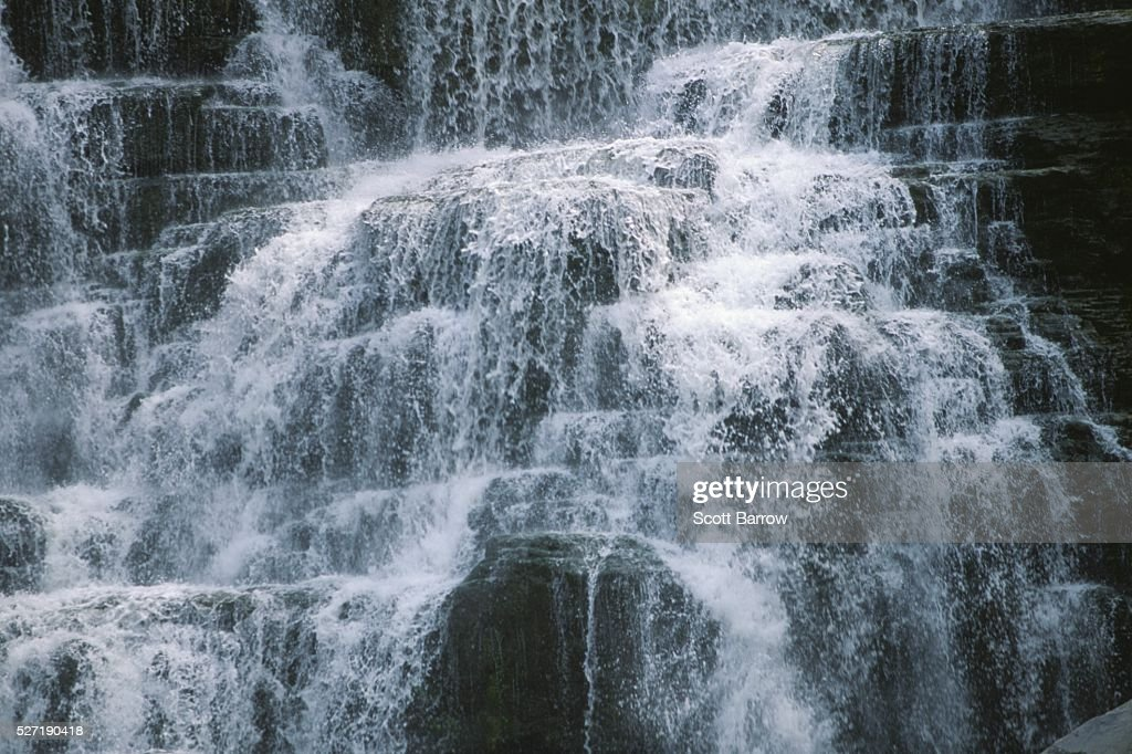 Powerful waterfall : Stock Photo