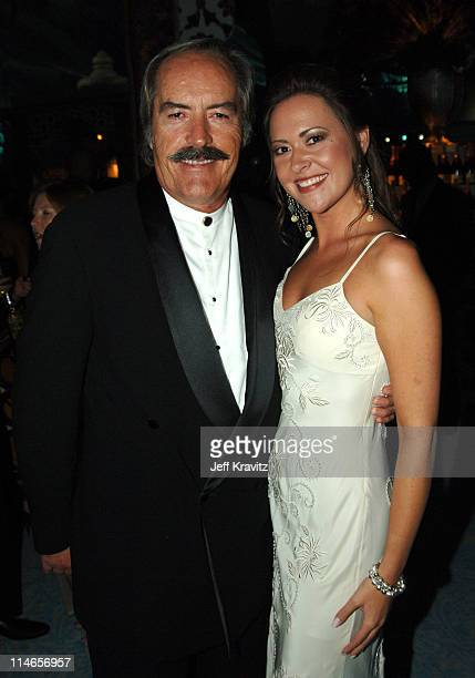 Powers Boothe and daughter during 57th Annual Primetime Emmy Awards HBO After Party at Pacific Design Center in West Hollywood California United...