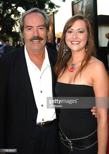 Powers Boothe and daughter during HBO's Rome Los Angeles Premiere Red Carpet at Wadsworth Theater in Los Angeles California United States