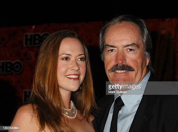 Powers Boothe and daughter during The 56th Annual Primetime Emmy Awards HBO After Party in Los Angeles California United States
