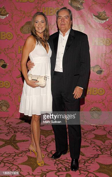Powers Boothe and daughter Parisse Boothe during 58th Annual Primetime Emmy Awards HBO After Party Arrivals at Pcific Design Center in West Hollywood...