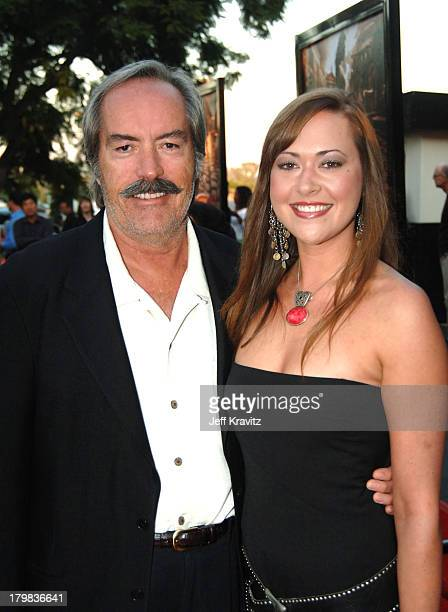 Powers Boothe and his daughter Parisse Boothe during HBO's Rome Los Angeles Premiere Red Carpet at Wadsworth Theater in Los Angeles California United...