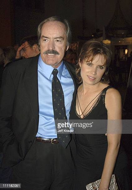 Powers Boothe and Kim Dickens during HBO's 'Deadwood' Season 2 Los Angeles Premiere Arrivals at Grauman's Chinese Theater in Los Angeles California...