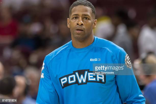 Power's Kendal Gill during a BIG3 Basketball league game on July 16 2017 at Wells Fargo Center in Philadelphia PA