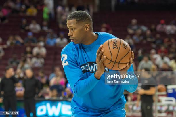 Power's Kendall Gill during a BIG3 Basketball league game on July 16 2017 at Wells Fargo Center in Philadelphia PA