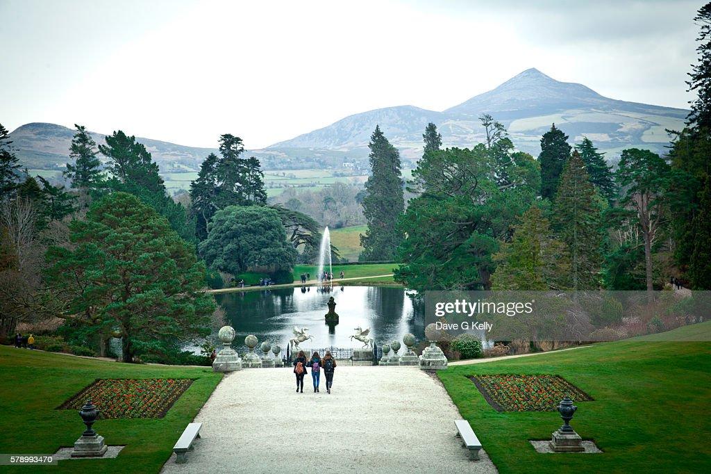 Powerscourt Gardens Stock Photo | Getty Images