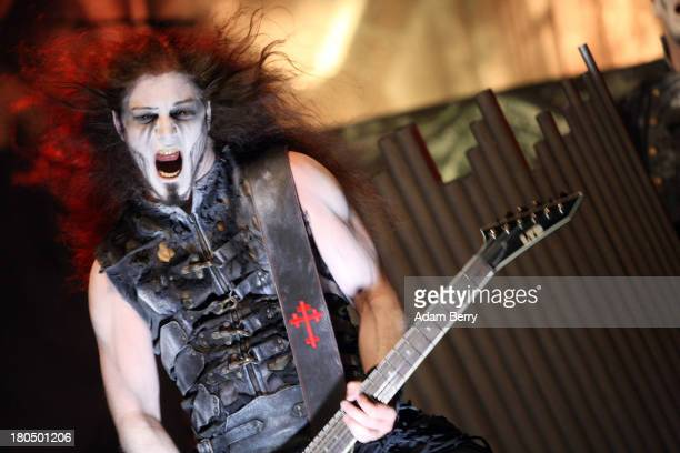 Powerwolf performs during the fifth Metal Hammer Awards at Kesselhaus on September 13 2013 in Berlin Germany The annual prizes are given by Metal...