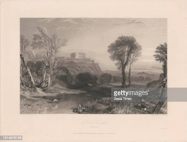 Powis Castle, James T. Willmore, 1800–1863, British, after Joseph Mallord William Turner, 1775–1851, British Line engraving, 3rd state on moderately...