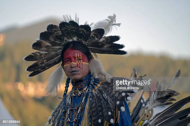 powwow chilliwack, british columbia - first nations stock pictures, royalty-free photos & images