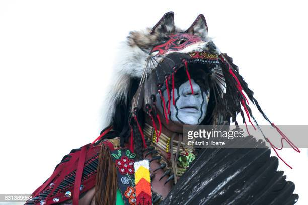 powwow, chilliwack, british columbia - first nations stock pictures, royalty-free photos & images