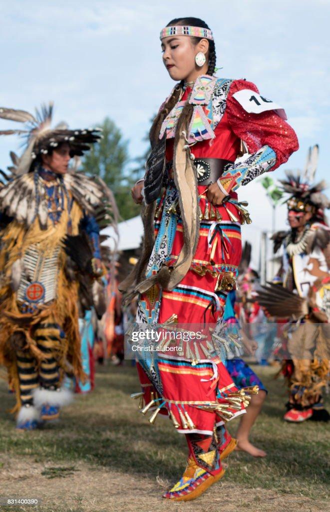 Powwow Squamish Nation Editoril : Stock Photo