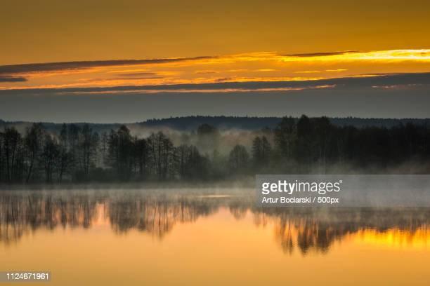 Pozezdrze Lake On Masuria, Poland