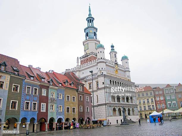 Poznan main square with Town Hall
