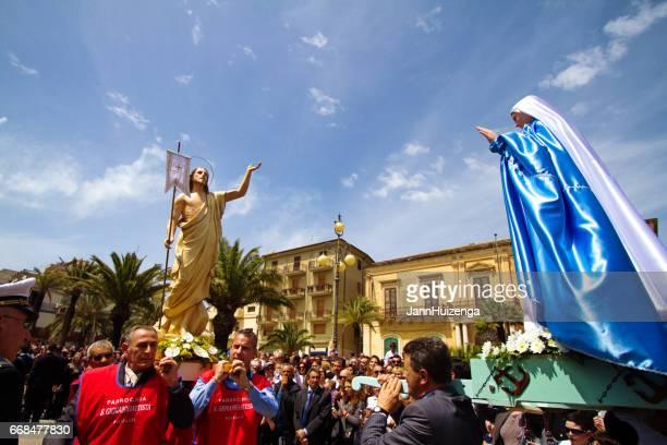 Pozzallo (Ragusa Province), Sicily, Italy: Celebrating Easter