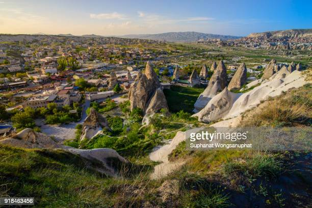 ppadocia is known around the world as one of the best places to fly with hot air balloons. Goreme, Cappadocia