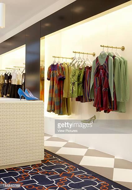 Ppq Conduit Street London W1 United Kingdom Architect Waldo Works Tom Bartlett Ppq Flagship Store Waldo Works Tom Bartlett London View Of Colourful...