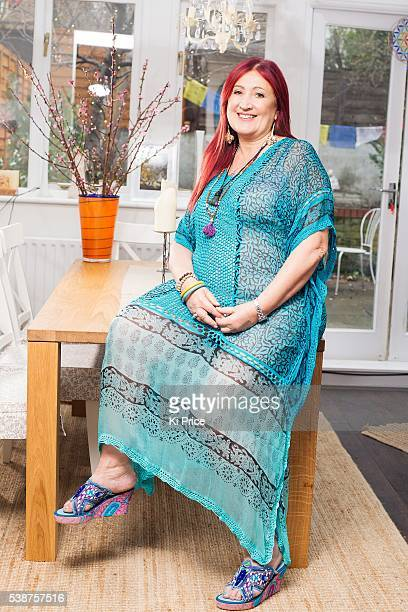 Pr consultant writer campaigner Lynne Franks is photographed for the Daily Mail on March 8 2015 in London England