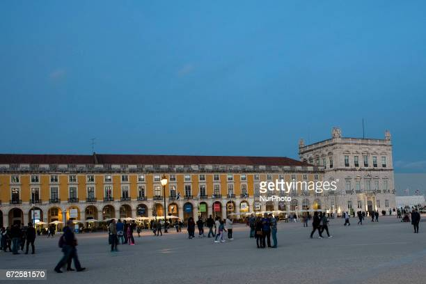 Praça do Comércio was the site where the Royal Palace of Lisbon was established for more than 200 years It is one of the most important squares of...