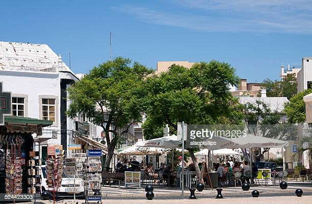 praça ferreira de almeida, faro - faro city portugal fotografías e imágenes de stock