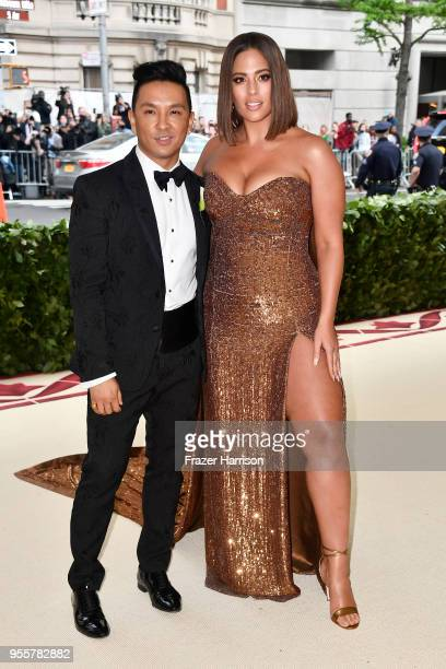 Prabal Gurung and Ashley Graham attend the Heavenly Bodies: Fashion & The Catholic Imagination Costume Institute Gala at The Metropolitan Museum of...