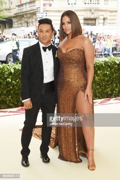 Prabal Gurung and Ashley Graham attend the Heavenly Bodies Fashion The Catholic Imagination Costume Institute Gala at The Metropolitan Museum of Art...