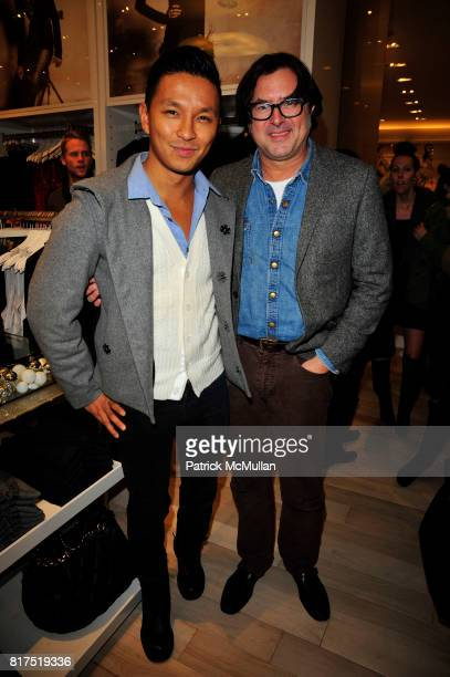 Prabal Gurung and Billy Reid attend Ann Taylor Flatiron Store Opening at Ann Taylor NYC on December 2 2010 in New York City