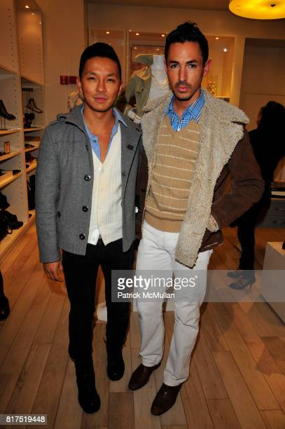 Prabal Gurung and Christian Cota attend Ann Taylor Flatiron Store Opening at Ann Taylor NYC on December 2 2010 in New York City