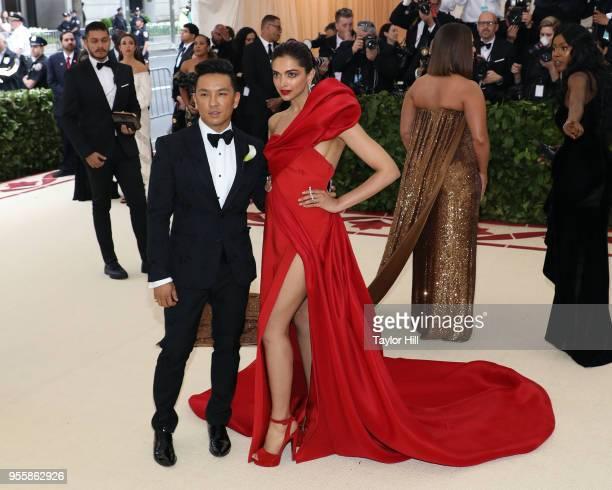 Prabal Gurung and Deepika Padukone attend Heavenly Bodies Fashion the Catholic Imagination the 2018 Costume Institute Benefit at Metropolitan Museum...