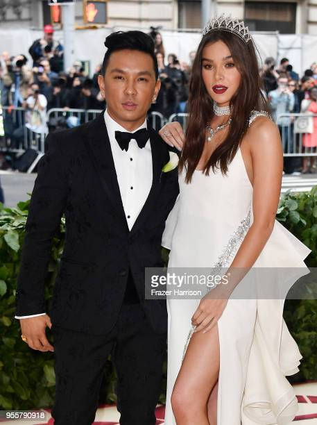 Prabal Gurung and Hailee Steinfeld attend the Heavenly Bodies: Fashion & The Catholic Imagination Costume Institute Gala at The Metropolitan Museum...