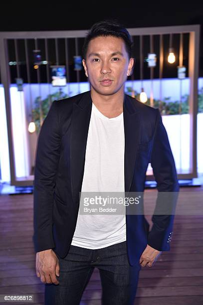 Prabal Gurung attendsÊhis Samsung Gear 360 Exhibition at Ocho at Soho Beach House during Art Basel on November 30 2016 in Miami Beach Florida