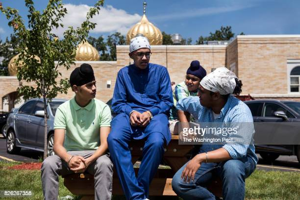 Prabhjot Singh Parminder Jawanda Manjot Singh and Prabhjot Singh at the Sikh Temple in Oak Creek WI Sunday July 30 2017 August 5 2017 will mark the...