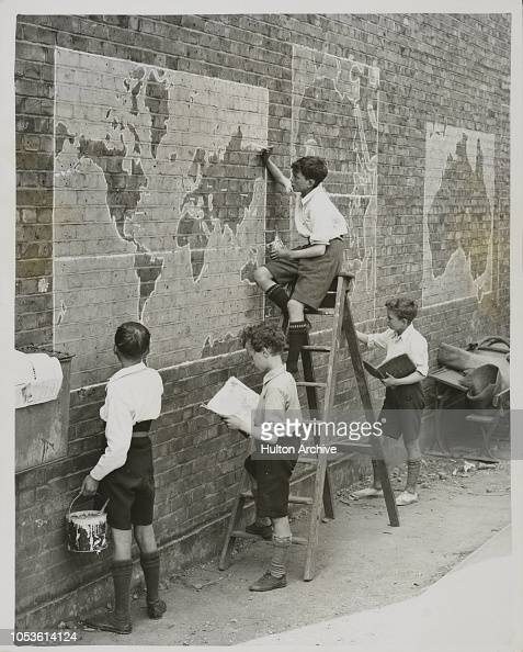 Practical Geography At Open Air School, A novel method of