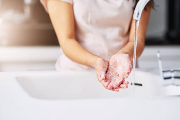 practice good hygiene - hand stock pictures, royalty-free photos & images