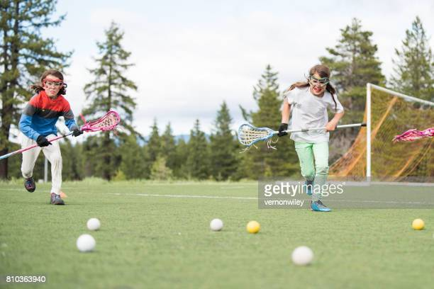 practice makes perfect - lacrosse stock pictures, royalty-free photos & images