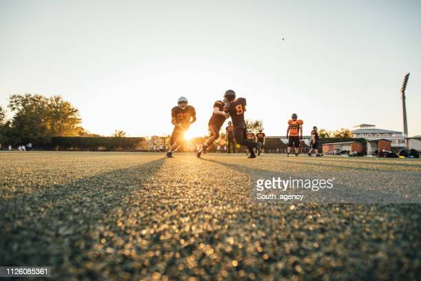 nfl practice - guard american football player stock photos and pictures