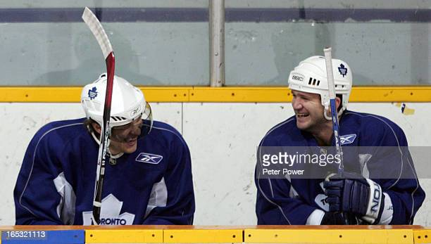 The Toronto Maple Leafs were on the ice at The Lions Arena in Toronto on Wednesday morning after losing to The Bruins again on Tuesday night...