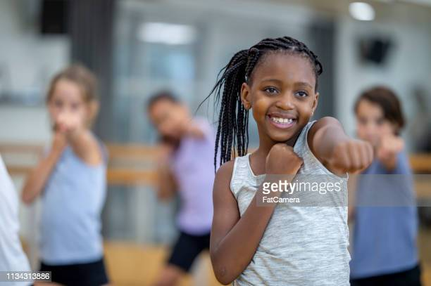 practicing boxing - physical education stock pictures, royalty-free photos & images