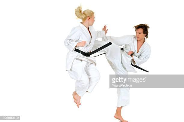 Üben karate