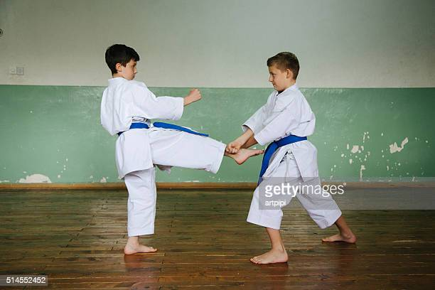 World's Best Karate Kicks Stock Pictures, Photos, and Images