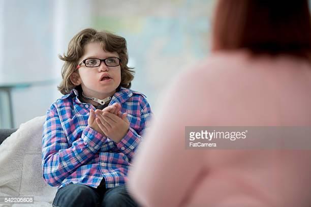 Practicing Sign Language