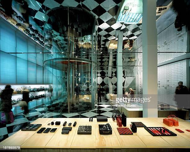 Prada Fashion Store New York United States Architect Rem Koolhaas Office For Metropolitan Architecture Prada Fashion Store Landscape View Of Lower...