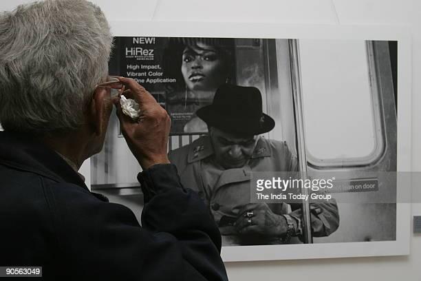 Pradeep Das gupta's photo exhibition tilted
