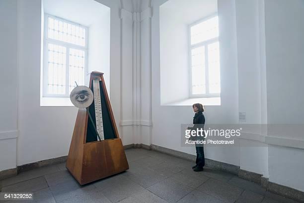 prado museum, contemporary art installation - el prado museum stock pictures, royalty-free photos & images