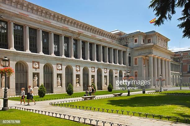 prado museum in madrid - el prado museum stock pictures, royalty-free photos & images