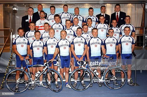 Praesentation Team Gerolsteiner 2003 Gerolstein Teamfoto/Mannschaft