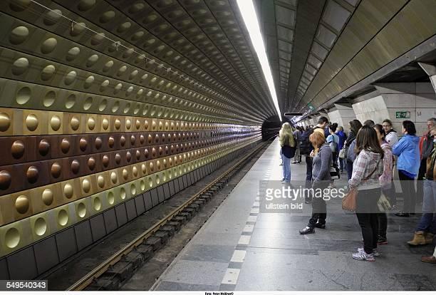 Prag Prager Metro mit insgesamt 3 Linien