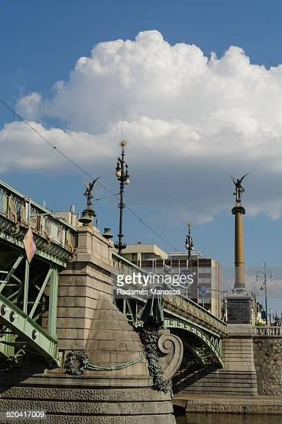 Prague bridge Manesuv Most