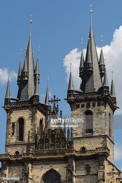Prague church of our lady before Tyn