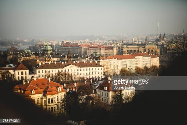 Prague cityscape, Czech Republic